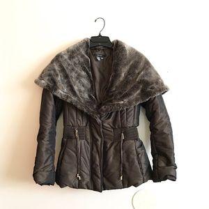 🎉TAKE 50% OFF!🎉 Zara Faux Fur Collar Jacket
